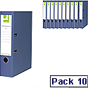 pack size - 10 lever arch files