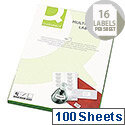 Q-Connect Multi-Purpose Labels 99.1x34mm (1600 Labels)