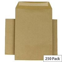 Q-Connect Envelopes C5 115gsm Manilla Self-Seal Pack of 250 KF3442