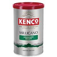 Kenco Millicano Caffeine Free Instant Coffee 100g Tin Pack of 1 643124