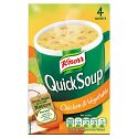 Knorr Quick Soup Chicken/Veg 4 x 20gm 129822