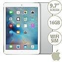 Apple iPad Air 1 Wi-Fi and Cellular 16GB Silver
