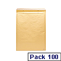 Brown Classic Bubble-Lined Envelopes Size 3 150 x 215mm (Pack of 100)