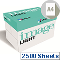 Image Light A4 75gsm White Office Printer/Copier Paper Box of 2500 Sheets