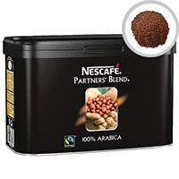 Nescafe Fairtrade Partners' Blend Coffee 500g Catering Tin Pack of 1 12284226