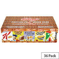 Kelloggs Cereal Variety Packs 5x7s NWT755