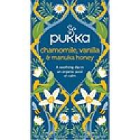 Pukka Chamomile Vanilla and Manuka Tea (Pack of 20) P5032