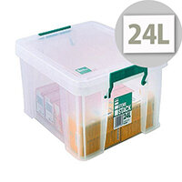 StoreStack 24L Plastic Storage Box W480xD380xH190mm RB11087