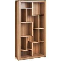 Home Office Bookcase Oak RIOBC
