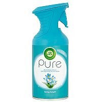 Air Wick Air Freshener Pure Spring Delight Fragrant Scent Spray 250ml Can Pack 1