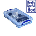 Plastic Storage Box 2.5 Litre Stackable Clear Really Useful