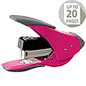 Rexel Easy Touch Stapler Quarter Strip Capacity 20 Sheets Pink Ref 2102632