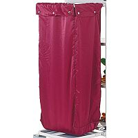 Maid Service Laundry Trolley Bag Burgundy - Does not include trolley