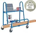 Platform Trolley Board/DIY Blue 250kg Capacity 316985