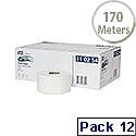 Tork T2 System Mini Jumbo Dispenser Roll Pack of 12 110254