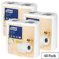 Tork Extra Soft Toilet Roll White 200 Sheet 2 Ply (Pack of 40) 120240