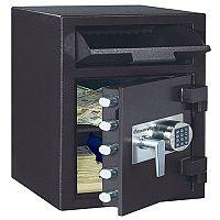 Master Lock Deposit Under Counter Safe 45.3 Litres Black (Pack of 1) DH-134E