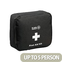St John Ambulance Motor Vehicle First Aid Kit Medium Black (Pack of 1) F30801