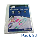 Tallon Punched Pocket Pack of 80 4055