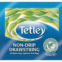 Tetley Tea Bags Black Tea Drawstring in Envelope Ref 1298 [Pack 25]