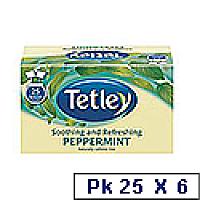 Tetley Peppermint Punch Tea 1286A Pk25