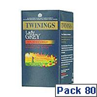 Twinings Lady Grey Tea Bag Pack of 20 x 4 F08209