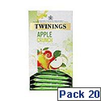 Twinings Apple Crunch Pack 20 F10736