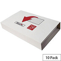 Missive Value Medium Book Mailing Boxes 313x250x65mm Pack of 10