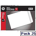 Blake C5 Envelopes Peel and Seal White Pack of 25 23893/25