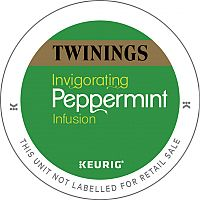 Twinings Peppermint Infusion 10 K-Cup Pods for Keurig K140 & K150 93-07602