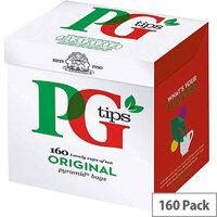 PG Tips Original Pyramid Tea Bags (Pack of 160) 10301618