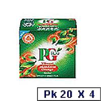 PG Tips Mandarin Orange Tea Pk 20 x 4