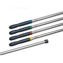 Vileda Supermop Aluminium Handle with Assorted Clips