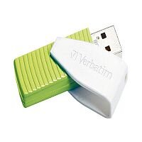 Verbatim Store 'n' Go Swivel Memory Stick USB 2.0 Drive 32GB Green
