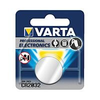 VARTA CR2032 Professional Electronics Primary Lithium Battery (Pack of 1)