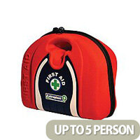 Astroplast Vehicle First Aid Pouch Red (Pack of 1) Up to 5 Person 1018100