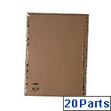 Index A-Z A4 20-Part Buff Subject Dividers WX26011