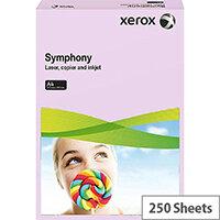 Lilac A4 Card 160gsm Medium Xerox Symphony (Pack of 250)