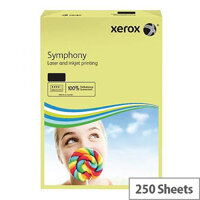 Pastel Green A4 160gsm Xerox Symphony Card (Pack of 250 Sheets)