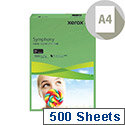 Mid-Green A4 80gsm Paper Pack of 500 Xerox Symphony