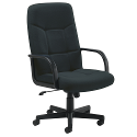 Arista High Back Managers Chair Charcoal