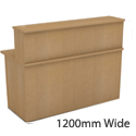 Ashford Beech Reception Unit 1200mm