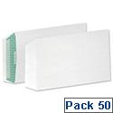 Basildon Bond C5 White Envelopes Peel and Seal Pocket Pack 50 Ref B80277