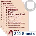 Bi-Office A1 Flipchart Pad Gridded Pack of 5 FL012301