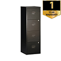 Bisley A4 Personal 4-Drawer Filer Black BY31003