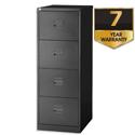 4 Drawer Steel Filing Cabinet Lockable Black Trexus By Bisley