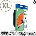 Brother LC129BK Black High Capacity Inkjet Cartridge - Fan