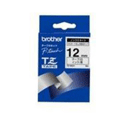 Brother P-Touch Tape 12mm Black/White TZN231