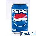 Pepsi Soft Drink Can 330ml [Pack 24] 3385