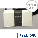 Conqueror DL Cream Envelopes Ultra Smooth Wallet Peel and Seal CXN1521CR Pack 500